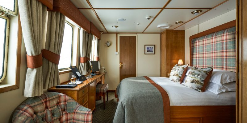 John Dick and Son HebrideanLowRes-10102-800x400 Hebridean Princess Refurbishment. Four very Different Looks for Contrasting Cabins