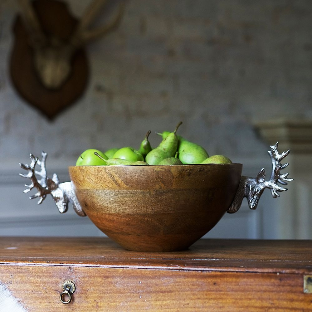 Fruit bowl - stag design