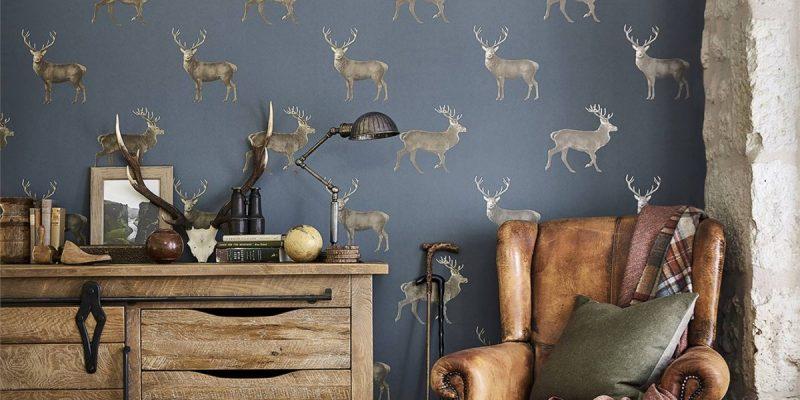 John Dick and Son Evesham-Deer-1-All-Colours-Elysian-wallpaper-800x400 Autumnal Hues Uncategorized