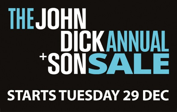 John Dick and Son 2020-Blog-Header Annual Sales Starts Tuesday 29th December Uncategorized
